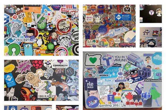 The thing about these stickers…